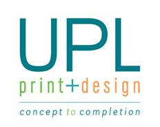 Universal Print and Design Logo